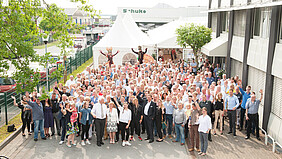 Schuko employees celebrate 50th company anniversary