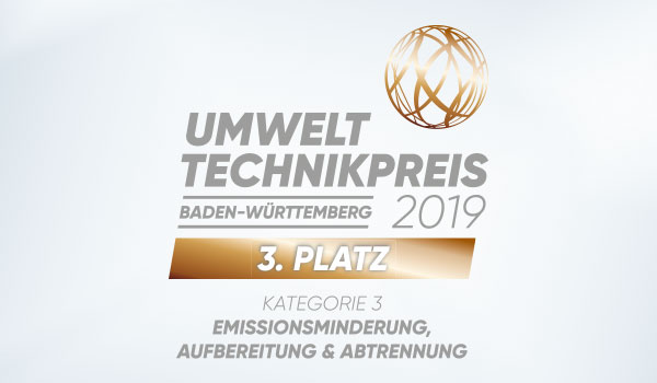 Logo Environmental Technology Award Baden-Württemberg 2019